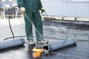 tar roof repair